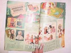 Vintage 1967 SEARS CHRISTMAS WISH BOOK Catalog toys Barbie train slot car robot