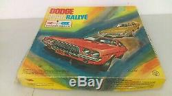 Vintage 1972 Dodge Mopar Challenger Road Rallye Race Set Slot Car Boxed Complete