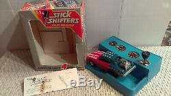 Vintage 1972 Hasbro Old Glory Drag Car Stick Shifters 4-Speed Battery OP Boxed