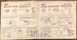Vintage 1972 Kenner SSP Collectors Racing Set Speed Shop 4-N-1 Zip Cars 70s Toys