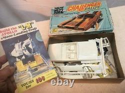 Vintage 1972 dodge Chanllenger charger plastic model car toy car kit Palmer