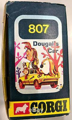 Vintage 1973 Corgi Toys 807 Dougal's Car Magic Roundabout boxed with figures
