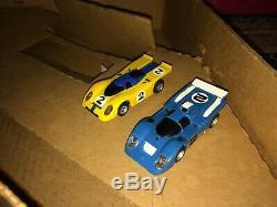 Vintage 1975 Aurora AFX J. Stewart Winners Circle HO Slot Car Lighted Race Set