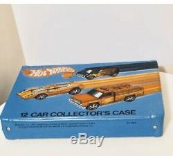 Vintage 1975 Hot Wheels Redline Carrying Case (Holds 12 Car) Mint Condition Rare