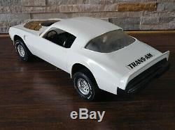 Vintage 1980 Processed Plastics USA Pontiac TRANS AM Toy Car LARGE 18 1981