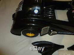 Vintage 1989 Kingsbury Toys Inc Batman Batmobile Rare Car DC Comics Electric Toy