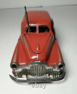 Vintage'50's French JOUSTRA Tin Wind Up MIRACLE CAR Model 2002