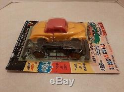 Vintage 60's Tri-Play Toys Stock Car Crashmobile 7 Plastic Exploding Car MOC V