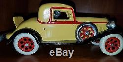 Vintage Arcade Reo Cast Iron Toy Car With Rumble Seat