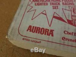 Vintage Aurora AFX Big Rig Challenge HO Slot Car Set Still Sealed Never Opened