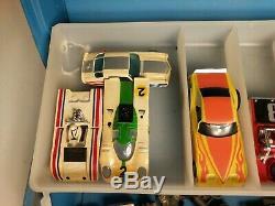 Vintage Aurora AFX Slot Car Lot 11 Bodies, Assorted Internals Untested