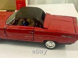 Vintage Bandai 60's Ford Thunderbird Convertible In Box Japan Tin Battery Car