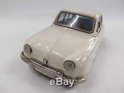 Vintage Bandai Friction Powered Tin Car Renault Dauphine No Box Good Condition
