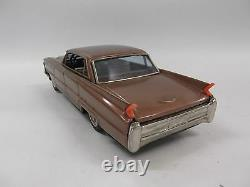 Vintage Bandai Friction Powered Tin Toy Car Cadillac No Box Good Condition