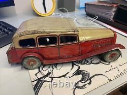 Vintage British Made Tin Plate Toy Car citroen