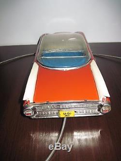 Vintage CADILLAC ELDORADO TOY Tin LIMOUSINE CAR 1960s