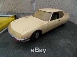 Vintage Car Toys Ancien Jouet Mont Blanc Voiture Citroen Sm Maserati 1/12