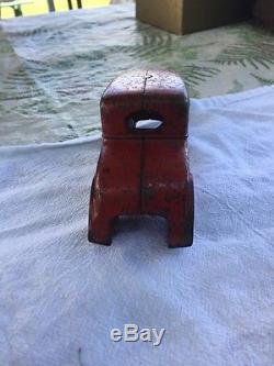 Vintage Cast Iron Chief Car Kenton