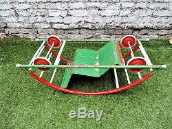 Vintage Childs Rocker/Car 1930's Art Deco Toy Game Triang