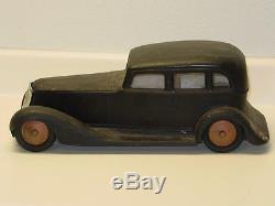 Vintage Cor Cor Toys Sedan Car, Pressed Steel Toy Vehicle, Cor-Cor Washington