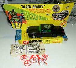 Vintage Corgi Toys #268 Black Beauty 1966 The Green Hornet Complete Excellent