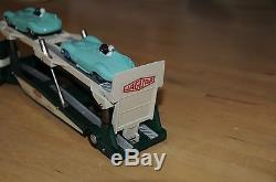 Vintage Corgi Toys / Code 3 / Mint / Carrimore Jaguar Car Transporter / 1101-C3