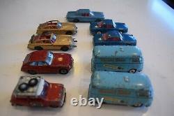 Vintage Corgi Toys Diecast Cars. Lot of 9