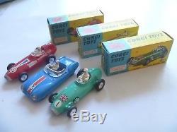 Vintage Corgi Toys Original Boxed Ecurie Ecosse Racing Car Transporter Boxed