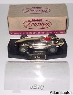 Vintage Corgi Toys/trophy Models Vacuum-plated Gold Brm Racing Car. Boxed