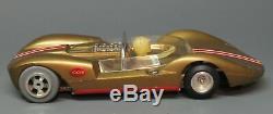 Vintage Cox Gold La Cucaracha 1/24 Scale Ready To Race Slot Car & Box