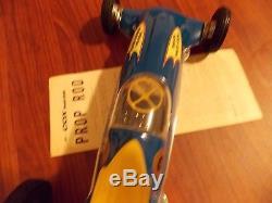 Vintage Cox Thimble Drome Prop Rod Tether Car