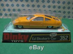 Vintage Dinky Toys 352 Ed Straker's Car NMint box
