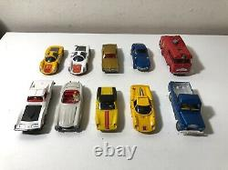 Vintage Dinky Toys Mercury Solido Tekno 143 Scale Lot of 10 Cars