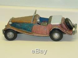 Vintage Doepke Model Toys MG Car, Diecast Vehicle, Restore