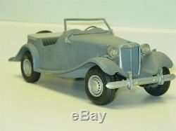 Vintage Doepke Model Toys MG Car, Diecast Vehicle, Restore