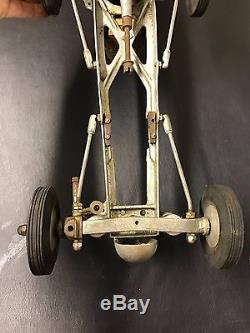 Vintage Dooling Bros Mercury Tether Car Chassis RWD Line Control Racer Aluminum