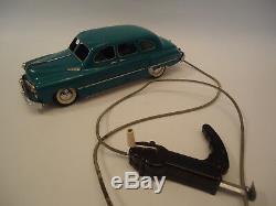 Vintage GAZ 12 ZIM USSR Russian Tin Toy Limousine Car Remote Control Soviet