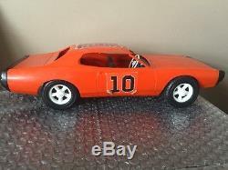 Vintage Gay Toys Plastic General Lee Toy Car Dukes Of Hazzard Race Car