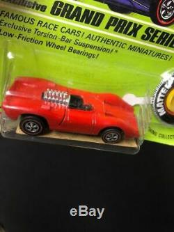 Vintage HOT WHEELS CARDED REDLINE old toy car lot Mattel Turbofire, LOLA FERARRI