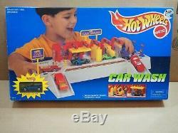 Vintage Hot Wheels 1994 Car Wash 65610 New in Box HTF VHTF Rare