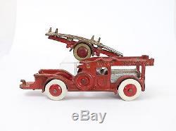 Vintage Hubley NU CAR Transport 776 Cast Iron Model 1930/1931 Chassis