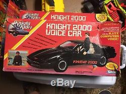 Vintage Kenner Knight Rider Knight 2000 Voice Car With Box 1983