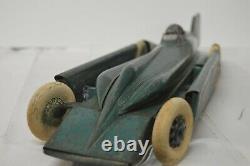 Vintage Kingsbury Metal Race Car