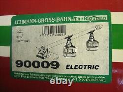 Vintage Lehmann Rigi Duo 90009 Snow Cable Car Toy Ski Lift Tram RigiDuo 9000