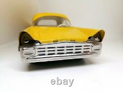 Vintage Made in USSR Tin Toy Car with Friction mechanism Futuristic Car. Rare