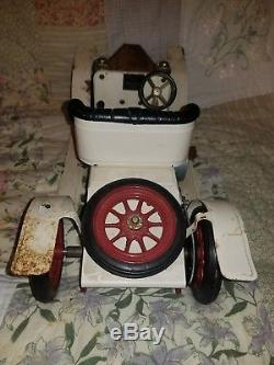 Vintage Mamod Steam Engine Roadster Car Metal Tin Toy England Restore Parts