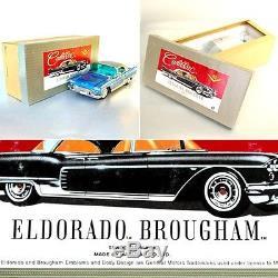 Vintage Marusan Friction Limited Tin Car Toy Cadillac Eldorado Japan With Box
