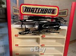 Vintage Matchbox Car Rotating Display Matchbox Fastlane Car Display Original