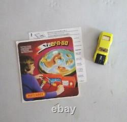 Vintage Matchbox Steer-n-Go Game 1975 70s Tested and Working