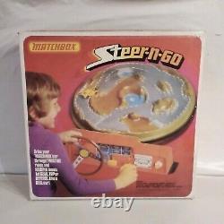 Vintage Matchbox Steer-n-Go Game 1975 (FANTASTIC) Boxed